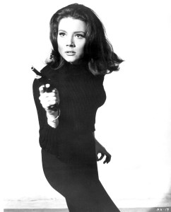 Diana Rigg (as Mrs. Emma Peel) in The Avengers - 1961-1969 Supplied by WENN This is a PR photo. WENN does not claim any Copyright or License in the attached material. Fees charged by WENN are for WENN's services only, and do not, nor are they intended to, convey to the user any ownership of Copyright or License in the material. By publishing this material, the user expressly agrees to indemnify and to hold WENN harmless from any claims, demands, or causes of action arising out of or connected in any way with user's publication of the material.