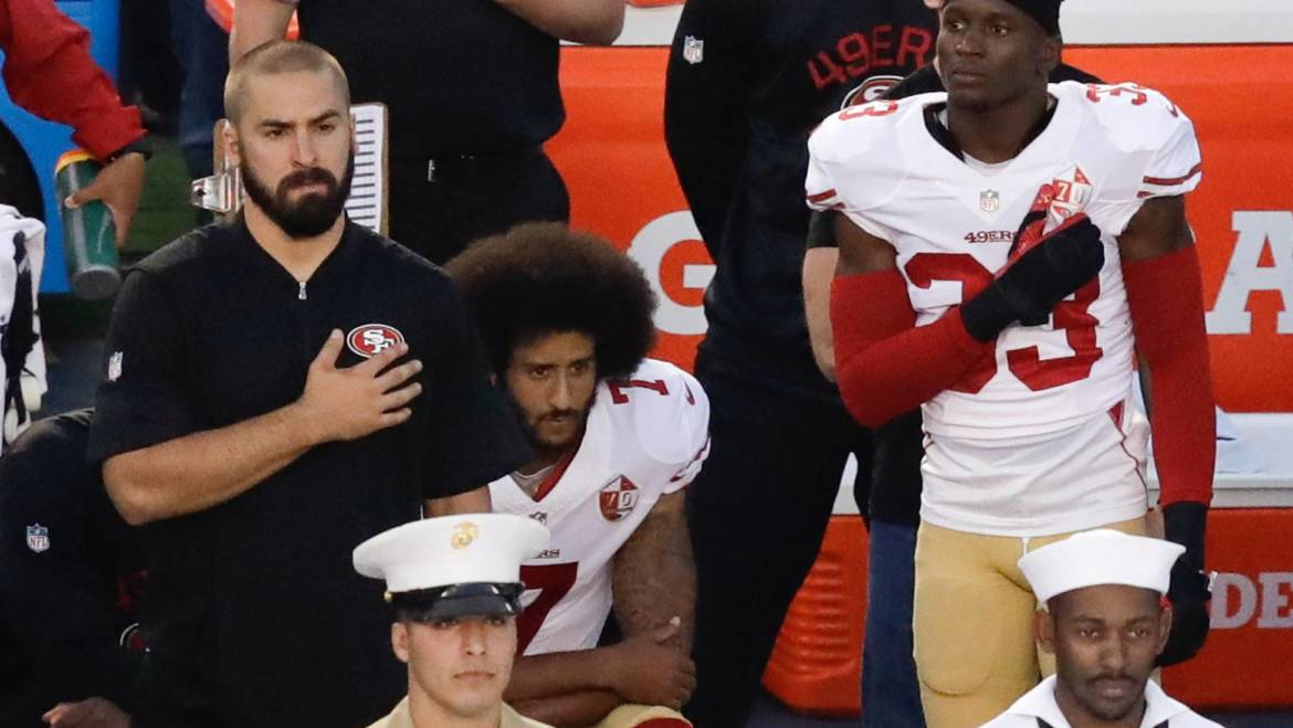 "A few thoughts on ""Colin Kaepernick and Non-violent Civil Disobedience"""